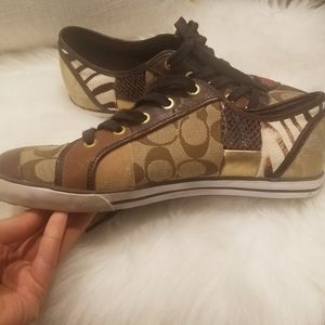 Coach patchwork sneakers